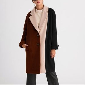 Heidi wool coat- petite studio